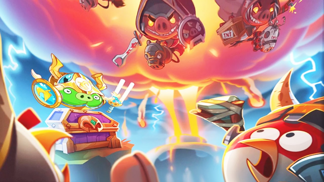 Angry Birds Epic New Upcoming Event The Apocalyptic Hogriders New World Boss Hogriders Youtube