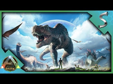ARK IN VR! RAISING BABY DINOSAURS AND FENDING OFF SWARMS OF ENEMIES! - Ark Park [VR Gameplay]