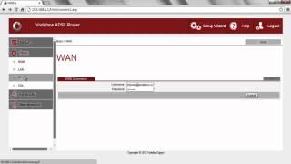 Маршрутизатор Vodafone АДСЛ 532 е змінюється по Wi-Fi пароль