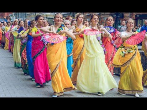 Krishna consciousness   iskcon kirtan dance   Hare Krishna hare krishna