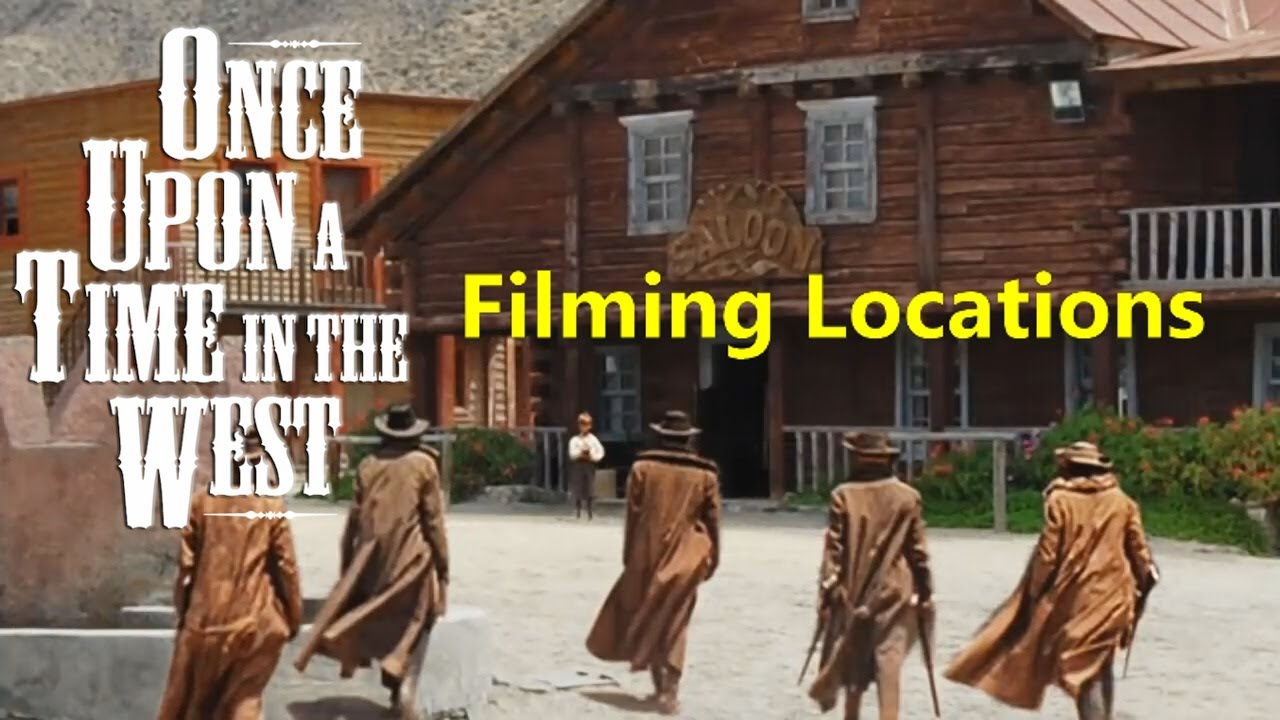 Once Upon a Time In the West ( filming location video ) Ennio Morricone Leone Fonda Bronson ...