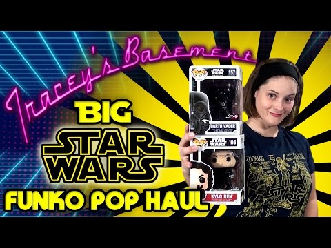 Big Star Wars Funko Pop Haul - 14 Pops with Exclusives and a Vaulted Pop