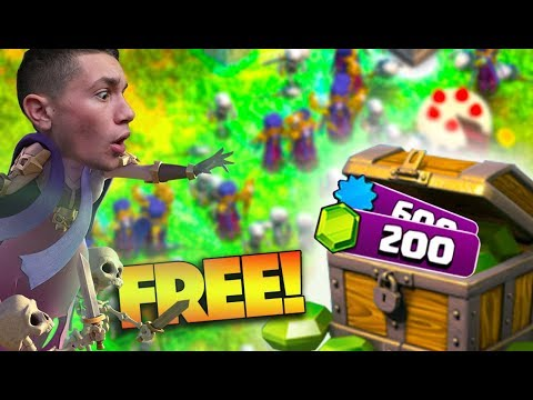 EASIEST 200 FREE GEMS EVER IN CLASH OF CLANS!