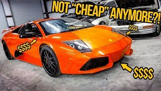 Here's How Much It Cost To Get My Fast & Furious Lamborghini Ready For Its FIRST DRIVE (NOT CHEAP)