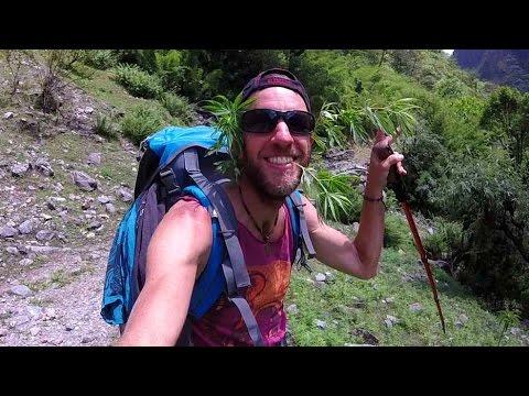 Marijuana, Hot Springs & Epic Views in the Himalayas, Nepal