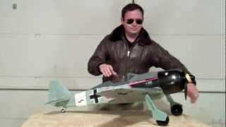 FMS FW-190 Focke Wulf flight review