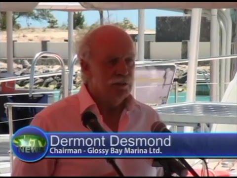 Glossy Bay Marina Opens -  Dermonth Desmond