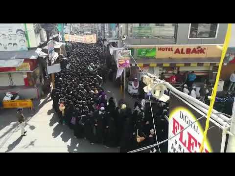 UJJAIN : WOMEN'S RALLY AGAINST TRIPLE TALAQ BILL & INTERFERE MUSLIM PERSONAL LAW