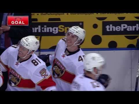 Trocheck gives Panthers the lead with 4.6 seconds left in the game