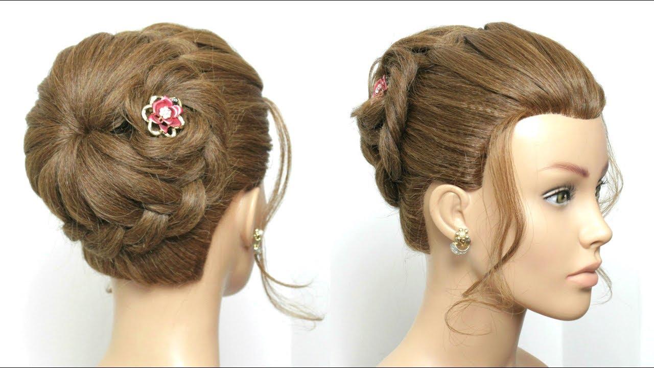 Hairstyles Juda: Braided Bun. Juda Hairstyle For Long Hair Tutorial