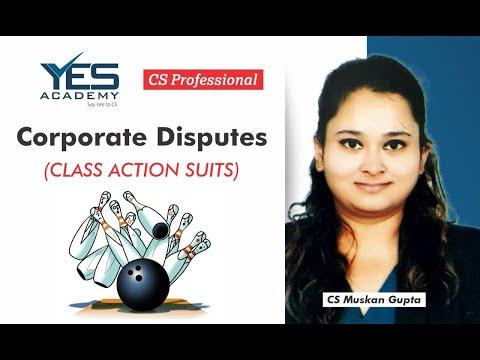 CS Professional Corporate Disputes   Class Action Suits   CS Muskan Gupta