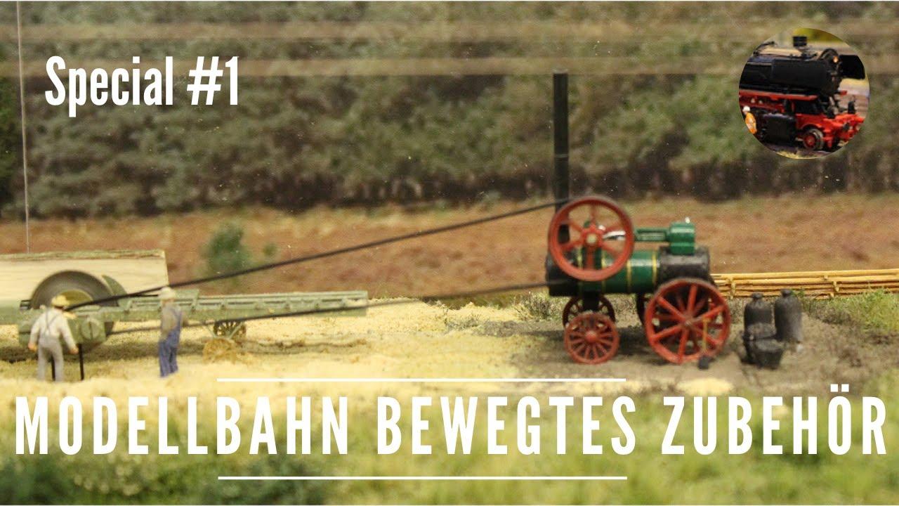 Modelleisenbahn Basteleien Teil 8/8 - 8 x bewegtes Zubehör