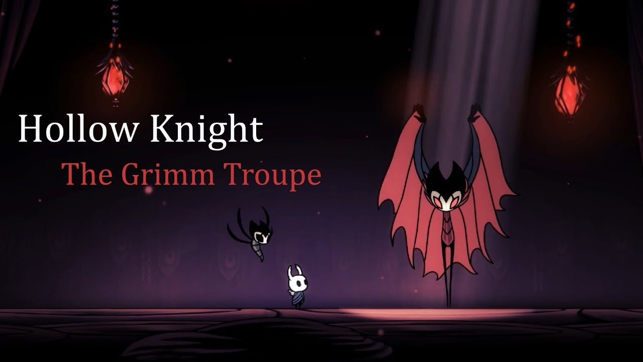Hollow Knight Troupe Master Grimm Charms Mit Hillel