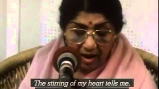 Lata Mangeshkar sings Ayega Aanewala