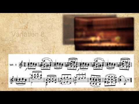 Paganini Caprice No 24 - musical performance and score