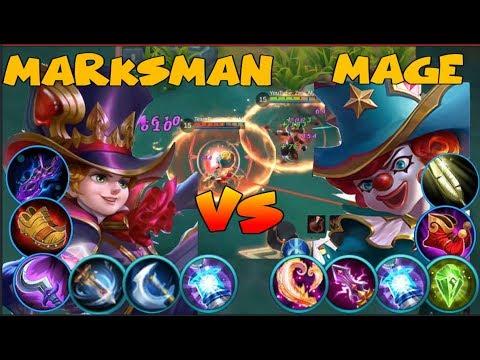 HARLEY FULL ATTACK DAMAGE VS HARLEY FULL MAGIC DAMAGE (Mobile Legends)