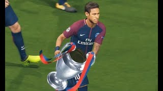 PSG vs FC Barcelona | Final UEFA Champions League 2017/2018 | PES 2018