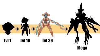 Deoxys Evolution & Mega | Pokemon Gen 8 Fanart