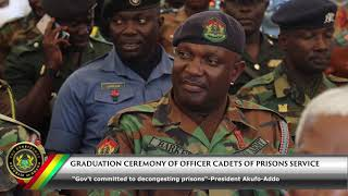 Graduation Ceremony of Officer Cadets of the Ghana Prisons Service
