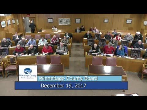 Winnebago County Board - 12/19/17