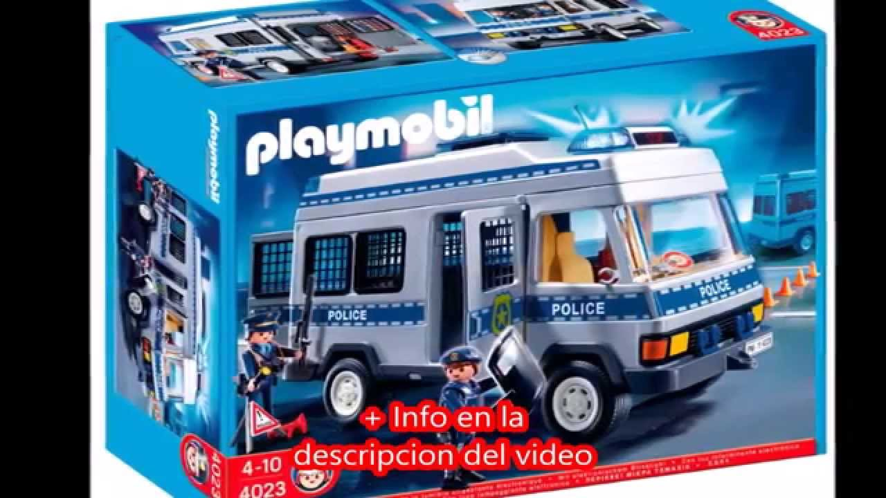 playmobil city action furg n de polic a 626563 youtube