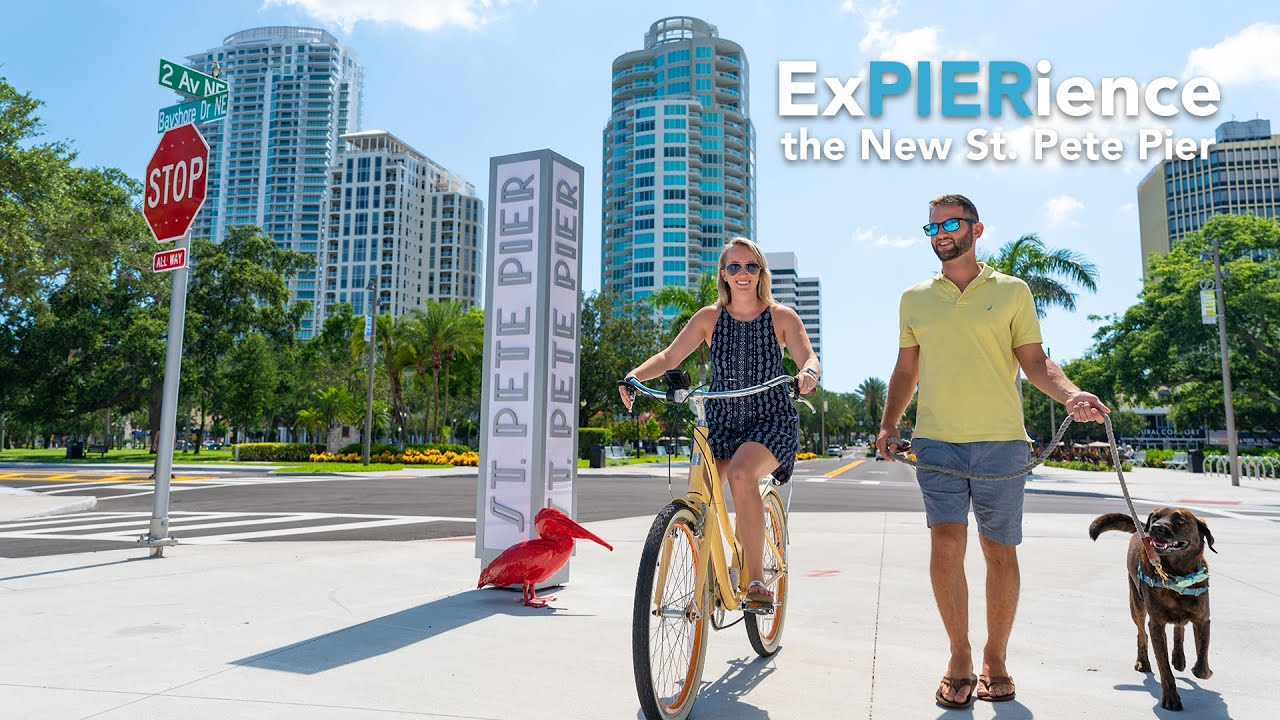 Come ExPIERience the All New St. Pete Pier!
