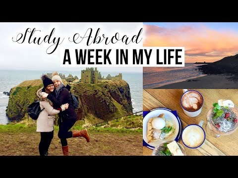 A Week in my Life {Study Abroad in Scotland} ✈️🇬🇧❤️🌊☀️ + Things to Do in Aberdeen 🏰