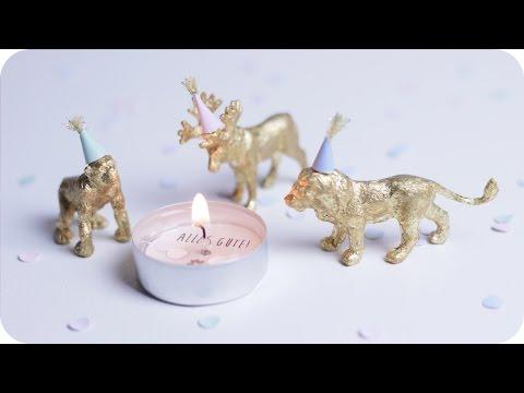 Valentinstags Geschenke selber machen | Kerze mit Geheimbotschaft | DIY Geschenkideen | chestnut!