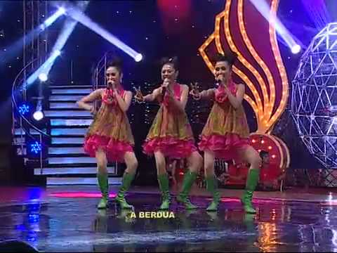 V-Three VirginThree @ Kembali Bergoyang ANTV