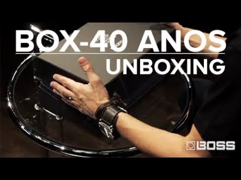 BOSS BOX 40 - UNBOXING
