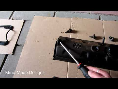 How To Replace a Valve Cover Gasket on a Golf 2 1.3I