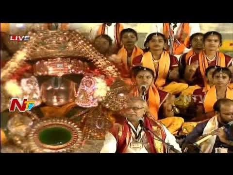 Rathasapthami Celebrations in Tirumala || TTD || Ratha Saptami 2018 || NTV