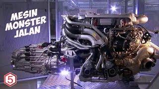 Mesin Monster Jalanan Berperforma Dahsyat Dan Brutal