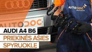 Priedų komplektas, diskinių stabdžių trinkelės keitimas AUDI A5 Convertible (8F7) - vadovas