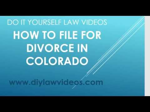 How to file for divorce in colorado youtube solutioingenieria Image collections