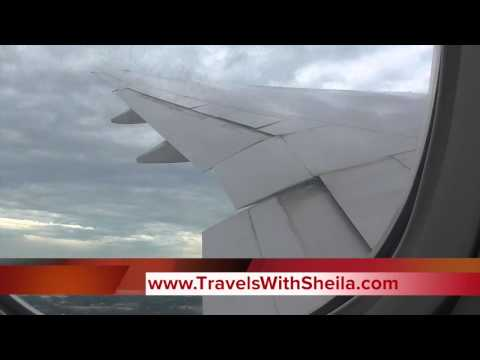 United Airlines Boeing 777-200 Chicago to Paris Economy Class