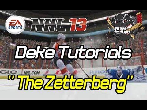 NHL 13 Deke Tutorials: Zetterberg Deke