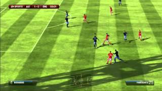 FIFA 13: Austria vs England, World Cup Qualifier