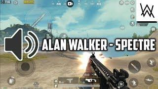 ALAN WALKER - SPECTRE | PUBG MOBILE GUN SYNC