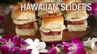 Hawaiian Foods Week Recipe: Hawaiian Sliders