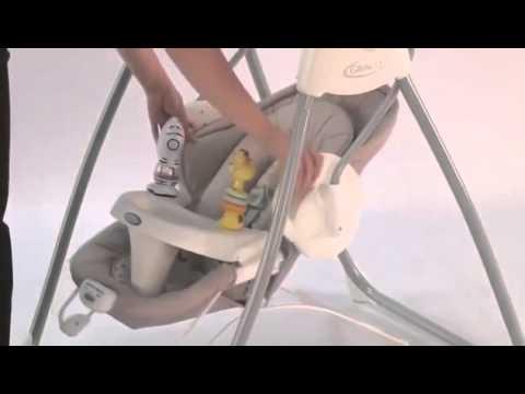 58280c29a Graco Swing N  Bounce Kiddicare - YouTube