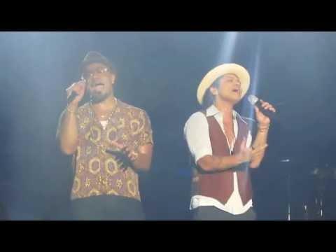 Bruno Mars - If I Knew / It Will Rain @ Forum (31/10-13)