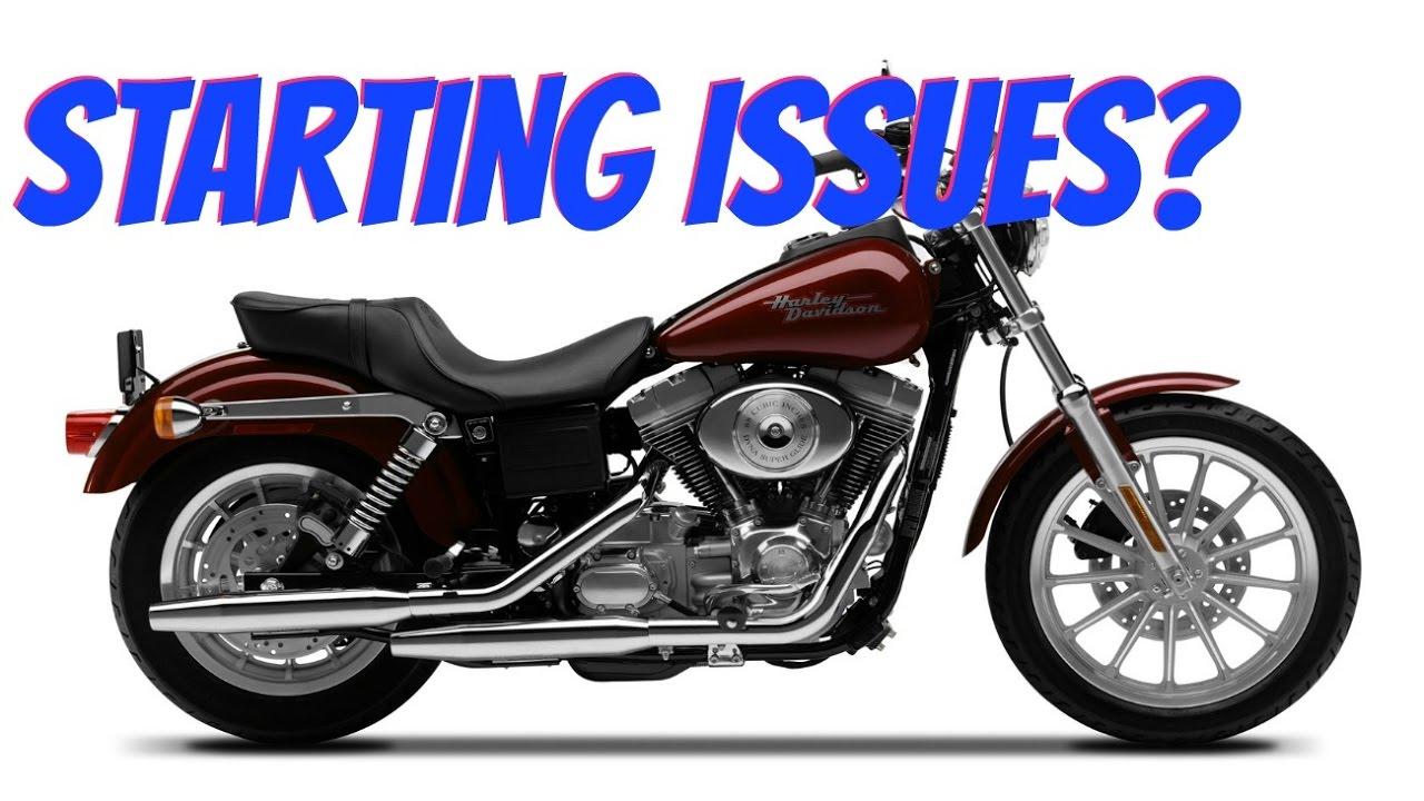 Harley Dyna Hard To Start Engine Starting Problems Youtube 2000 Davidson Road King Fuse Box