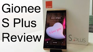 Gionee S Plus Review Videos