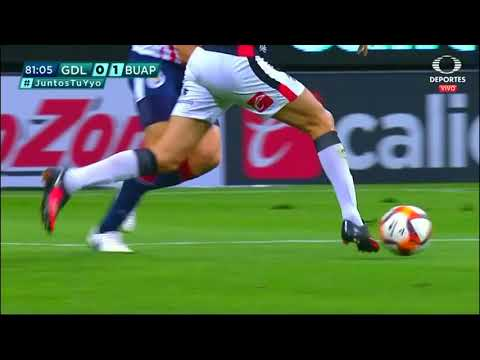 Gol de M. Chirinos | Guadalajara 0 - 1 Lobos BUAP | LIGA Bancomer MX - Clausura 2019  - Jornada 13