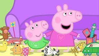 Peppa Pig Português Brasil TOMANDO CONTA DA PEPPA E DO GEORGE  | 45 Minutos Desenhos Animados