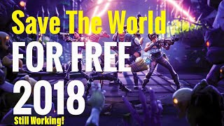 (PATCHED) HOW TO GLITCH INTO Fortnite Save The World (PATCHED) SAVE THE WORLD FREE - XBOX ONLY