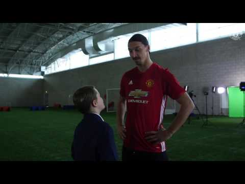 Zlatan Ibrahimovic makes Christmas dreams come true for Foundation participant