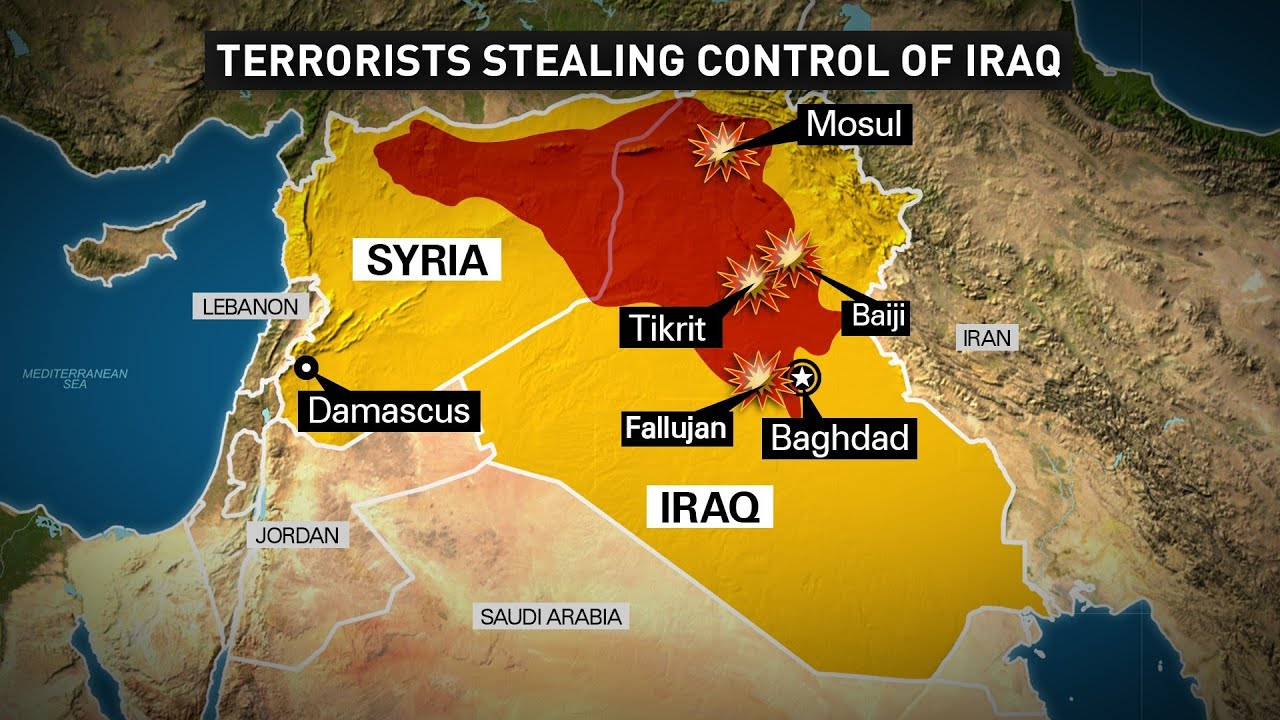 The Beast ISIS Islamic Caliphate in the Middle East bringing rise