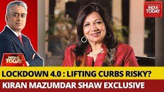 Kiran Mazumdar Shaw Exclusive On Lockdown 4.0 | News Today With Rajdeep Sardesai